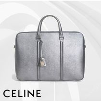 CELINE Calfskin A4 Plain Business & Briefcases