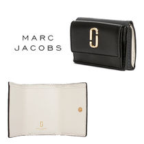 MARC JACOBS Snapshot Street Style Bi-color Leather Folding Wallets