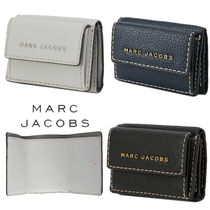 MARC JACOBS Unisex Street Style Leather Folding Wallets