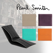 Paul Smith Plain Leather Folding Wallets