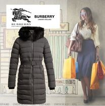 Burberry Street Style Down Jackets