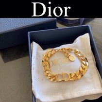 Christian Dior Casual Style Street Style Chain Bracelets