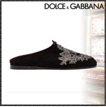 Dolce & Gabbana Sheepskin Sandals