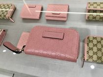GUCCI Leather Coin Purses
