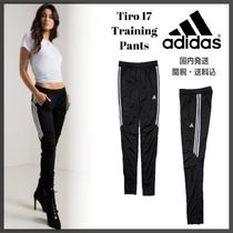 adidas Stripes Casual Style Street Style Long Skinny Pants