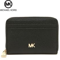 Michael Kors Plain Leather Coin Cases
