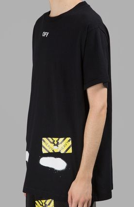 Off-White More T-Shirts Street Style Cotton T-Shirts 3