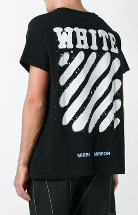 Off-White More T-Shirts Street Style Cotton T-Shirts 4
