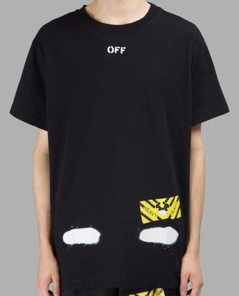 Off-White More T-Shirts Street Style Cotton T-Shirts 5