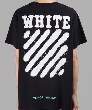 Off-White More T-Shirts Street Style Cotton T-Shirts 6