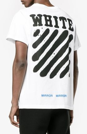 Off-White More T-Shirts Street Style Cotton T-Shirts 10