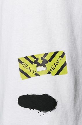 Off-White More T-Shirts Street Style Cotton T-Shirts 11