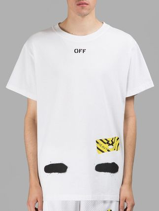 Off-White More T-Shirts Street Style Cotton T-Shirts 12
