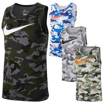Nike Camouflage Street Style Tanks