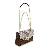 Louis Vuitton Monogram 2WAY Chain Other Animal Patterns Leather