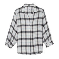 Ron Herman Other Plaid Patterns Linen Blended Fabrics Long Sleeves