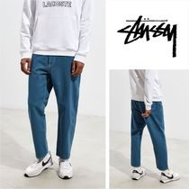 STUSSY Tapered Pants Street Style Cotton Jeans & Denim
