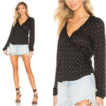Star Casual Style Long Sleeves Medium Shirts & Blouses