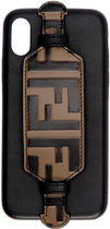 FENDI FOREVER Unisex Plain Leather Smart Phone Cases
