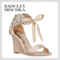 Badgley Mischka Open Toe Party Style Peep Toe Pumps & Mules