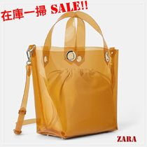 ZARA Casual Style Bag in Bag Crystal Clear Bags Totes