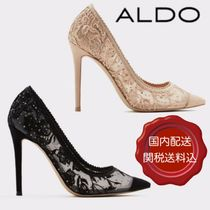 ALDO Blended Fabrics Plain Pin Heels Party Style