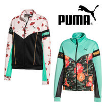 PUMA Short Flower Patterns Casual Style Street Style