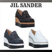 Jil Sander Platform Plain Shoes