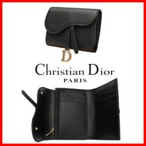 Christian Dior Street Style Folding Wallets