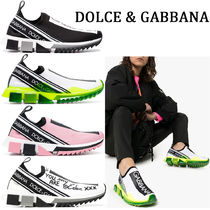 Dolce & Gabbana Rubber Sole Casual Style Blended Fabrics Street Style