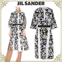 Jil Sander Flower Patterns Casual Style Home Party Ideas Coats