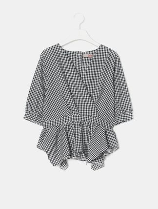Gingham Shirts & Blouses
