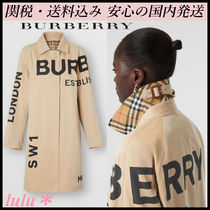 Burberry Plain Trench Coats