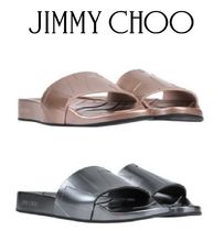 Jimmy Choo Casual Style Shower Shoes Flat Sandals