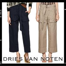 Dries Van Noten Casual Style Plain Cotton Long Cropped & Capris Pants