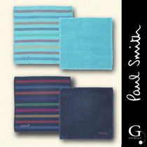 Paul Smith Stripes Cotton Handkerchief