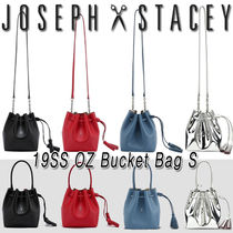 JOSEPH&STACEY Leather Elegant Style Shoulder Bags