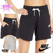 Nike Short Casual Style Plain Cotton Denim & Cotton Shorts