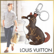 Louis Vuitton Leather Keychains & Holders