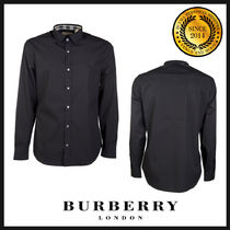 Burberry Long Sleeves Cotton Shirts