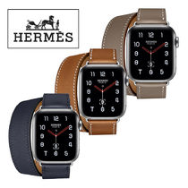 HERMES Casual Style Unisex Square Stainless Digital Watches