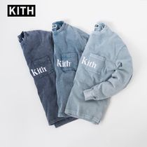 KITH NYC Street Style Long Sleeves Cotton Long Sleeve T-Shirts
