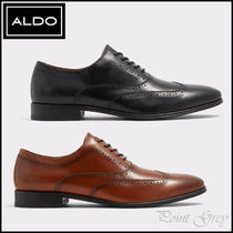 ALDO [ALDO] Leather Classic Wing Tip Dress Shoes - Rosburgo