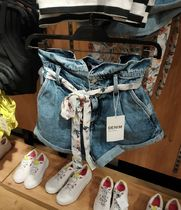 Bershka Denim Denim & Cotton Shorts