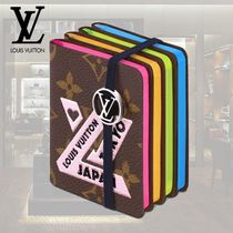 Louis Vuitton MONOGRAM Unisex Blended Fabrics Street Style Notebooks