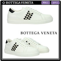 BottegaVerde Other Check Patterns Leather Sneakers