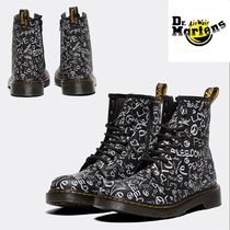 Dr Martens Petit Street Style Kids Girl Boots