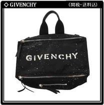 GIVENCHY PANDORA Nylon A4 2WAY Logo Messenger & Shoulder Bags