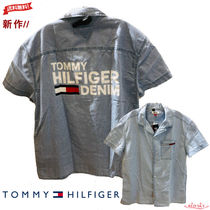 Tommy Hilfiger Street Style Short Sleeves Shirts