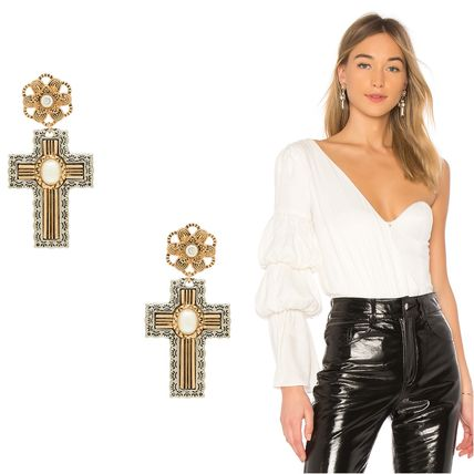 Cross Earrings & Piercings
